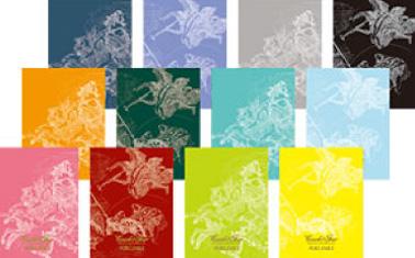 12色の選べるブックカバー