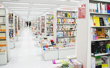 本を探しやすい売場作り