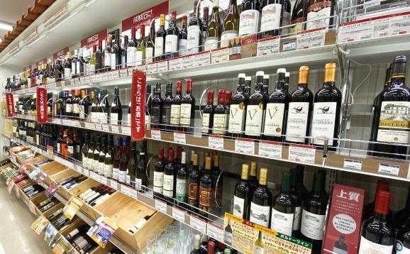 世界のワインコーナー