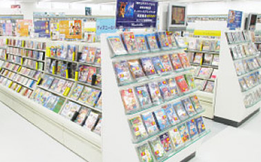 ファミリーCD・DVDコーナー