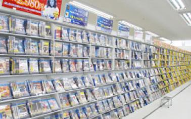 DVD&ブルーレイコーナー