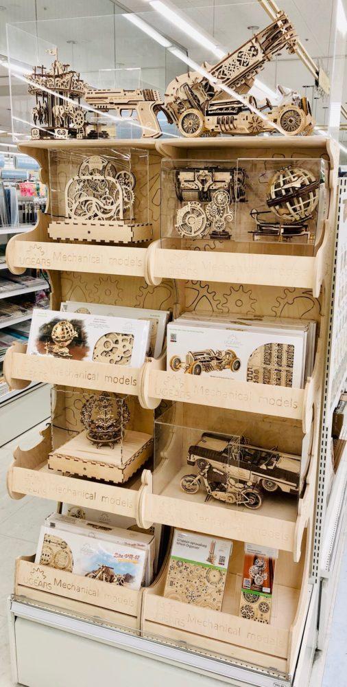 素敵な木製の模型が作れる組立キット