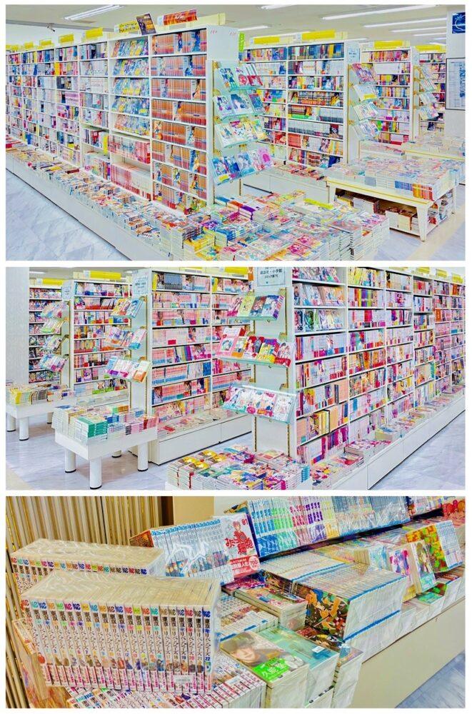 コミック売場リニューアル!